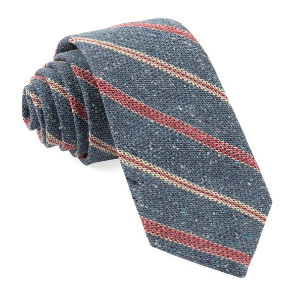 Cargo Stripe Light Blue Tie