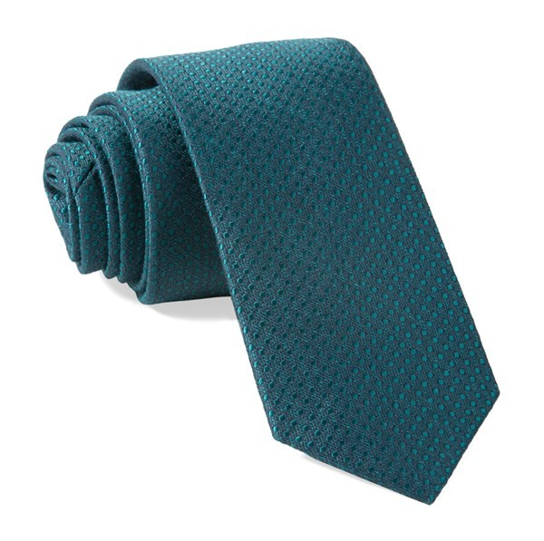 Bhldn Dotted Spin Emerald Tie