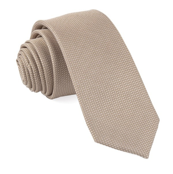 Bhldn Union Solid Light Champagne Tie