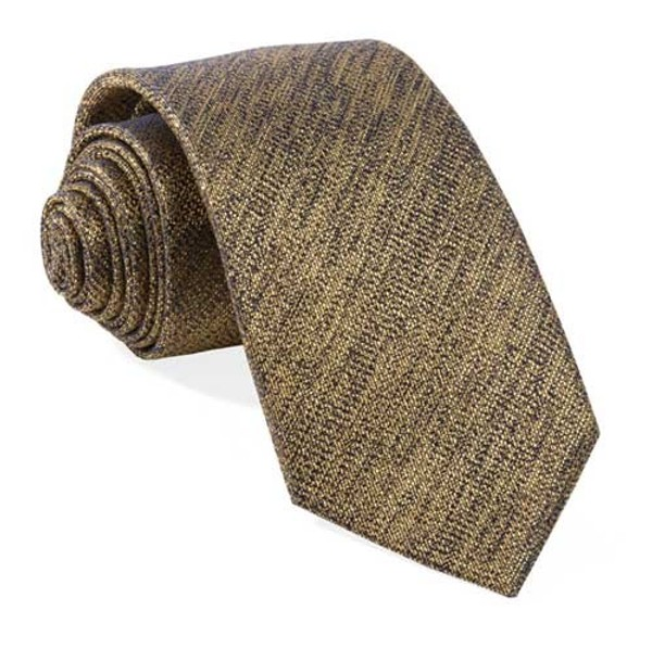 Solid Fortune Gold Tie