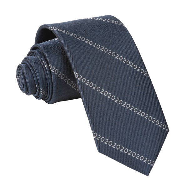 Hindsight Is 2020 Navy Tie
