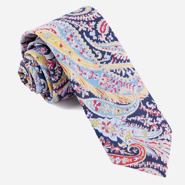 Liberty Felix And Isabelle Navy Tie