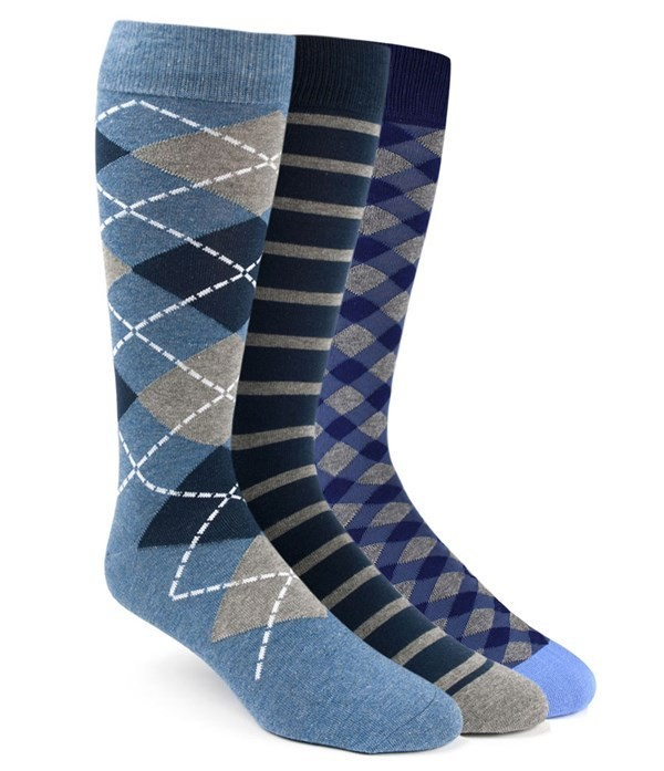 The Blue Sock Pack Navy Dress Socks