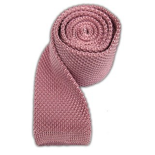 Knitted Baby Pink Tie