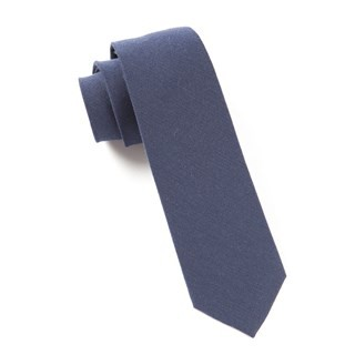 The Signature Navy Tie