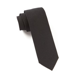 The Signature Black Tie