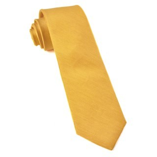 Linen Row Yellow Tie