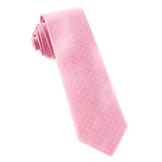 Destination Dots Pink Tie