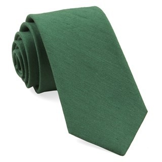 Linen Row Grass Green Tie