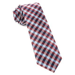 Polo Plaid Red Tie