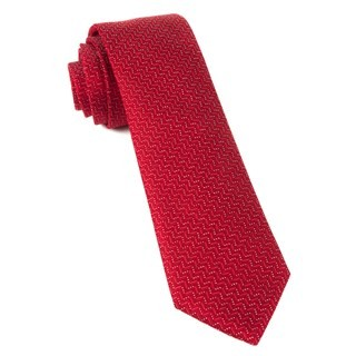 Right Angle Red Tie