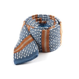 Journey Stripe Light Cornflower Tie