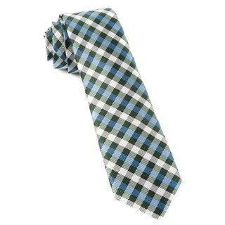 Polo Plaid Green Tie