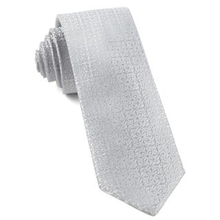 Opulent Light Silver Tie