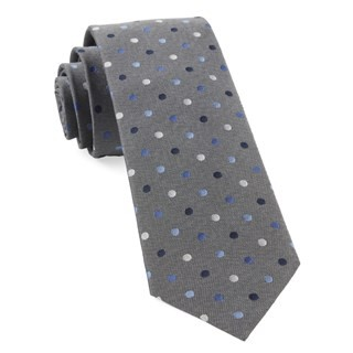Spree Dots Grey Tie