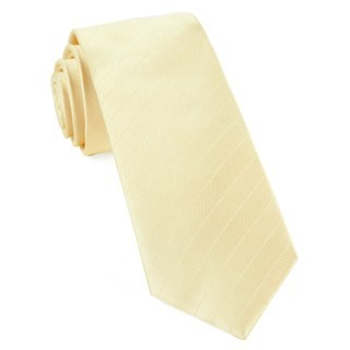 Herringbone Vow Butter Tie