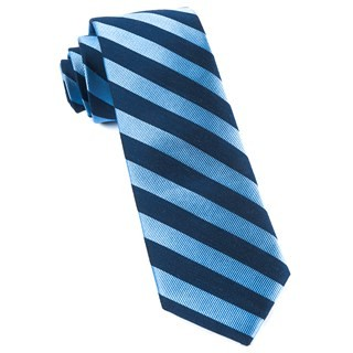 Lumber Stripe Light Blue Tie
