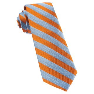 Lumber Stripe Orange Tie