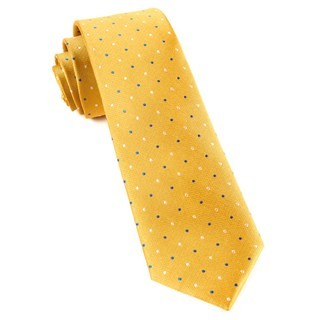 Jpl Dots Yellow Tie