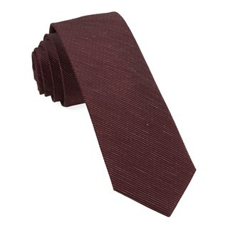 Bhldn Black Cherry Solid Tie