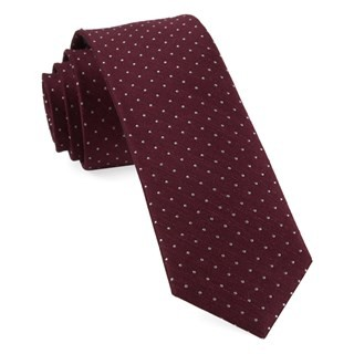Bhldn Black Cherry Dot Tie