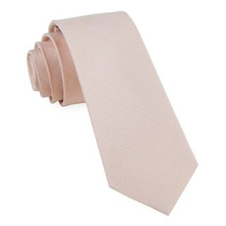 Bhldn Blush Textured Solid Tie