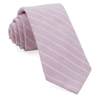 Bondi Stripe Washed Red Tie