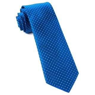 Mini Dots Royal Blue Tie