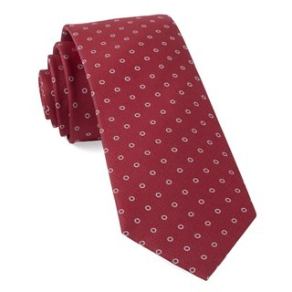 Round Trip Apple Red Tie