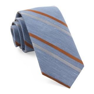 Pep Stripe Light Blue Tie