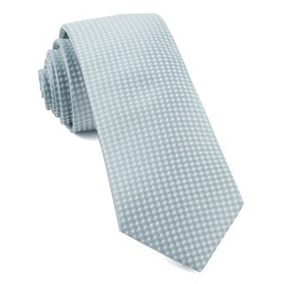 Be Married Checks Robins Egg Tie