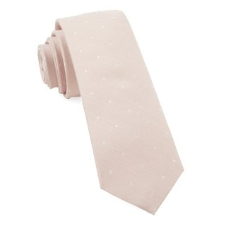 Bulletin Dot Blush Pink Tie