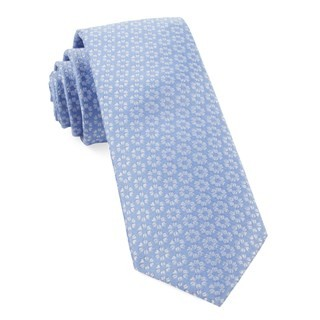First Look Floral Periwinkle Tie