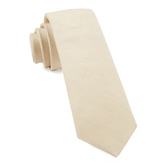 Linen Row Light Champagne Tie