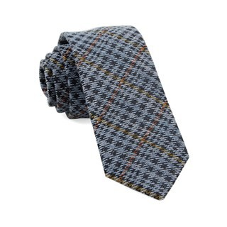 Quinn Plaid Light Blue Tie
