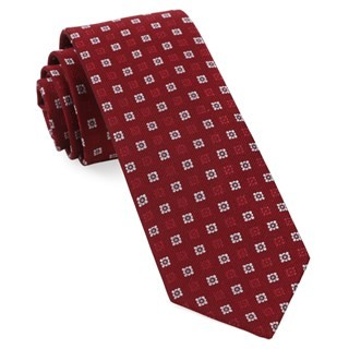 West Ridge Geos Red Tie