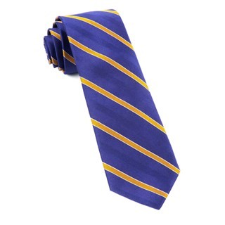 Pipe Dream Stripe Plum Tie
