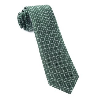 United Medallions Hunter Green Tie