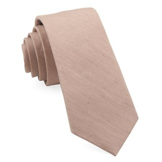Bhldn Linen Row Rose Quartz Tie