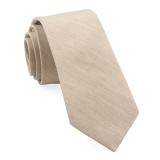 Bhldn Linen Row Sandstone Tie