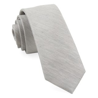 Bhldn Jet Set Solid Grey Tie