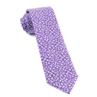 Habitat Bloom Plum Tie