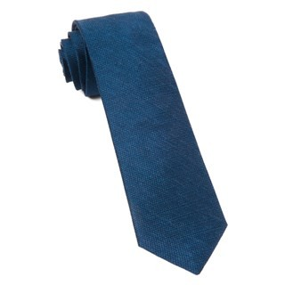 Jet Set Solid Navy Tie