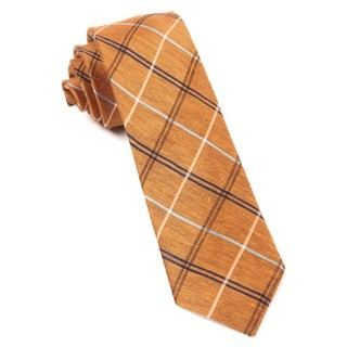 Maui Plaid Melon Tie