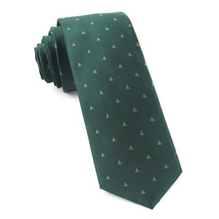 Evergreen Hunter Green Tie