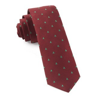 Evergreen Red Tie