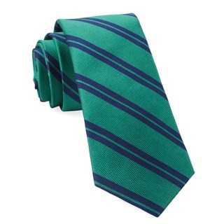 Center Field Stripe Kelly Green Tie