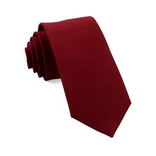 Cardinal Solid Red Tie
