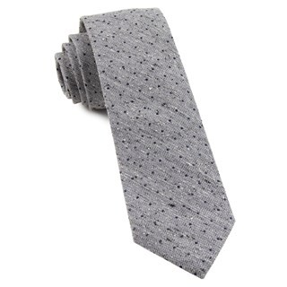Dotted Peace Soft Lavender Tie
