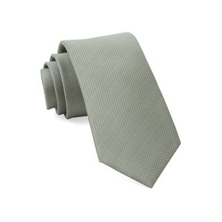 Union Solid Sage Green Tie